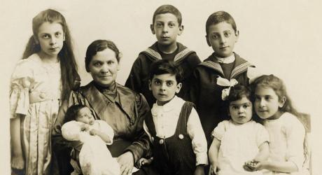 Familien Laksov/Scheer før krigen
